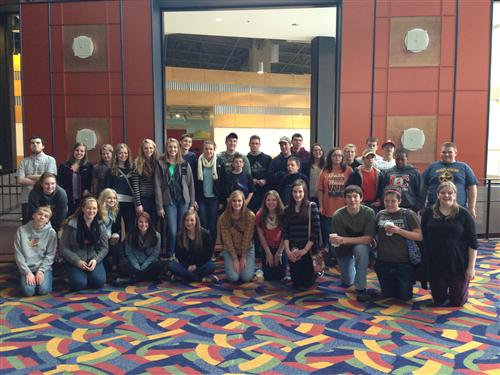 Whitaker Center Group Photo