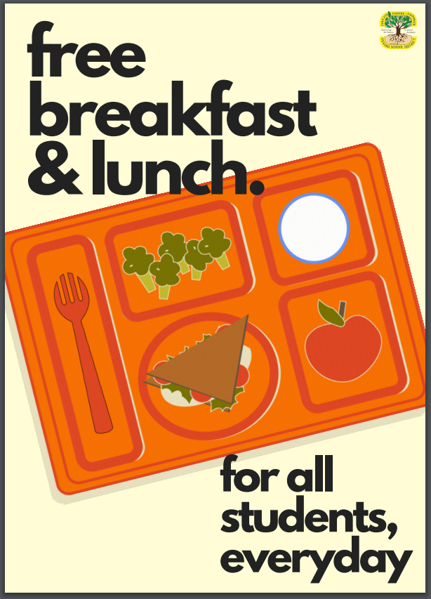 Free Breakfast & Free Lunch for All Students